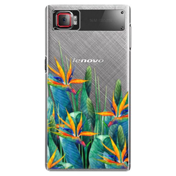 Plastové puzdro iSaprio - Exotic Flowers - Lenovo Z2 Pro