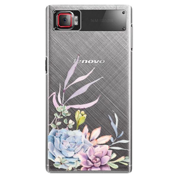 Plastové puzdro iSaprio - Succulent 01 - Lenovo Z2 Pro
