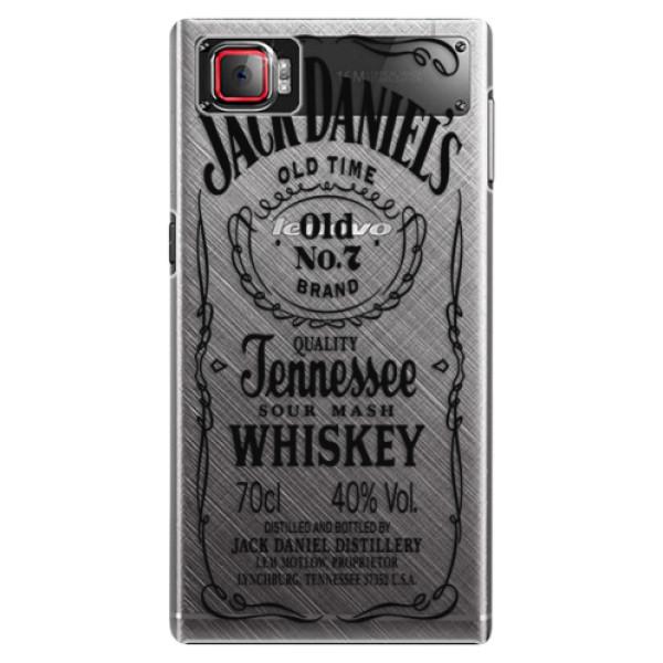 Plastové puzdro iSaprio - Transparent Black Jack - Lenovo Z2 Pro