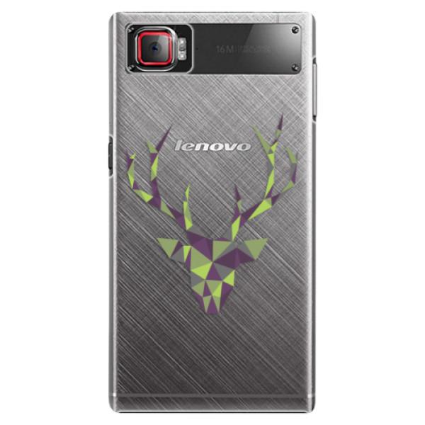 Plastové puzdro iSaprio - Deer Green - Lenovo Z2 Pro