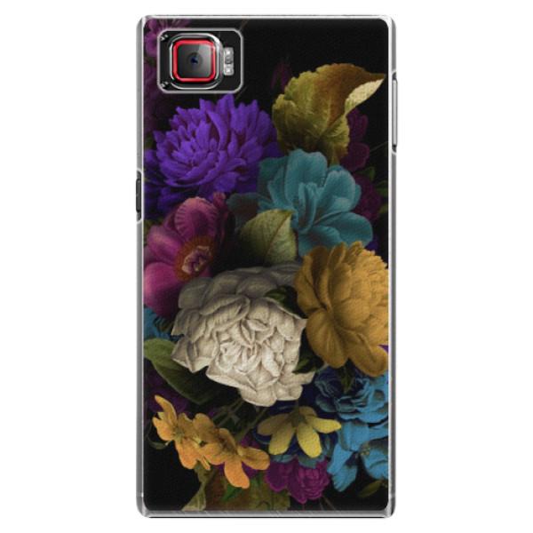 Plastové puzdro iSaprio - Dark Flowers - Lenovo Z2 Pro