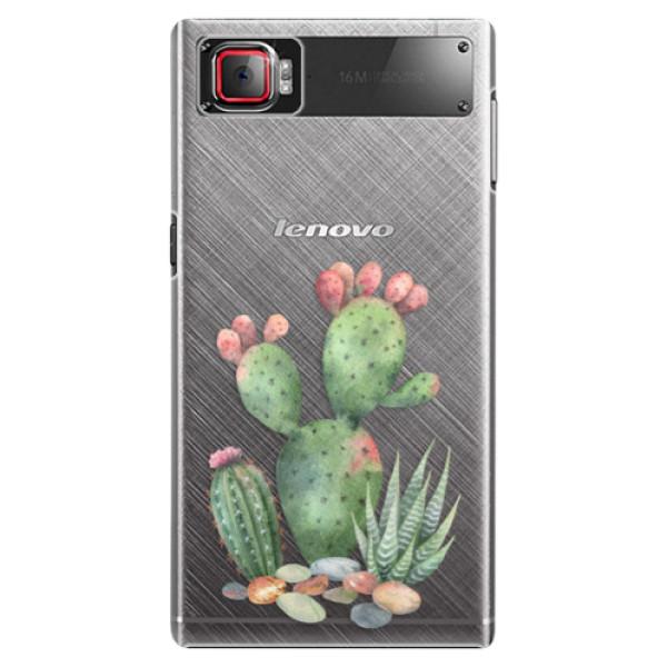 Plastové puzdro iSaprio - Cacti 01 - Lenovo Z2 Pro