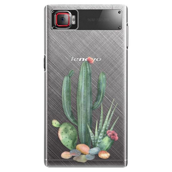 Plastové puzdro iSaprio - Cacti 02 - Lenovo Z2 Pro