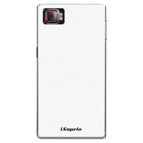 Plastové puzdro iSaprio - 4Pure - bílý - Lenovo Z2 Pro