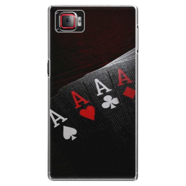 Plastové puzdro iSaprio - Poker - Lenovo Z2 Pro