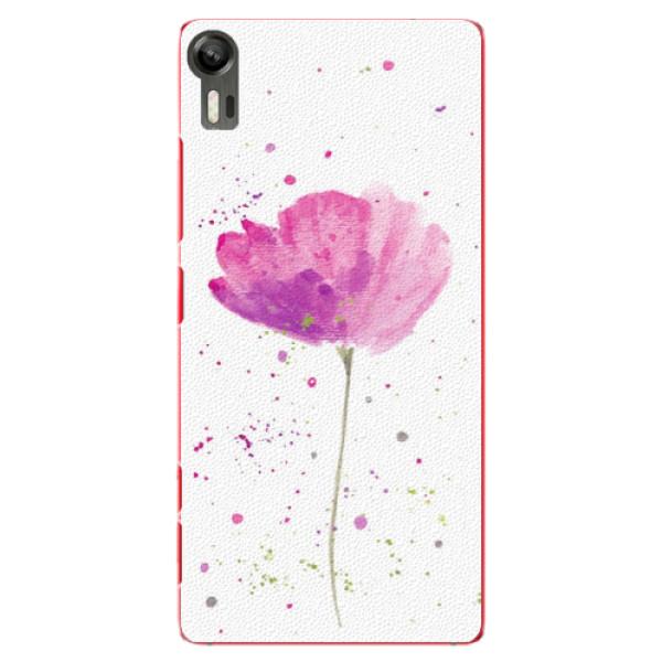 Plastové puzdro iSaprio - Poppies - Lenovo Vibe Shot