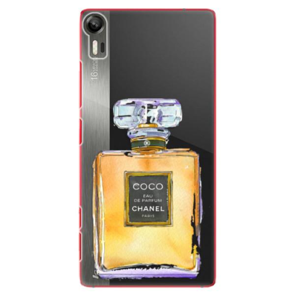 Plastové puzdro iSaprio - Chanel Gold - Lenovo Vibe Shot