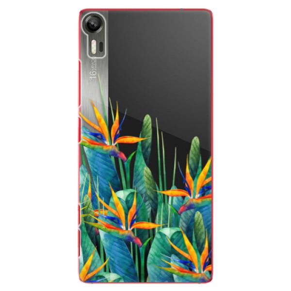 Plastové puzdro iSaprio - Exotic Flowers - Lenovo Vibe Shot