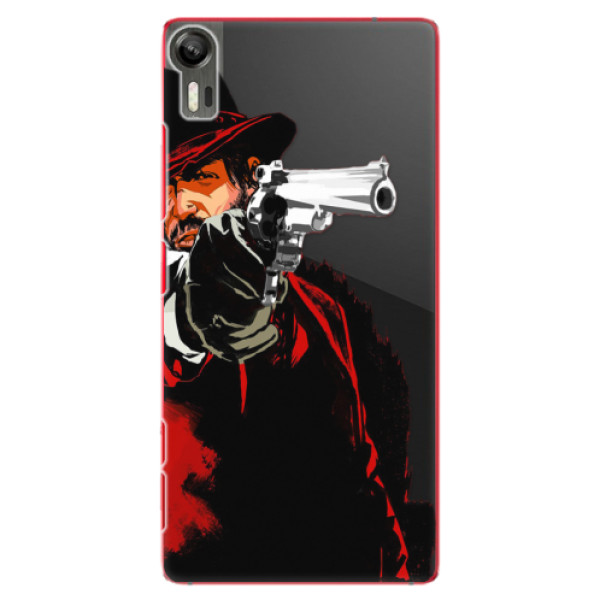 Plastové puzdro iSaprio - Red Sheriff - Lenovo Vibe Shot