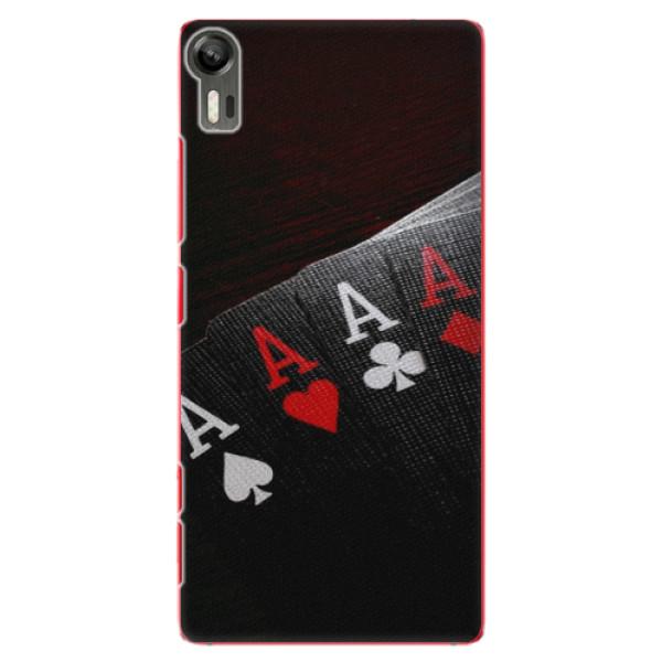Plastové puzdro iSaprio - Poker - Lenovo Vibe Shot