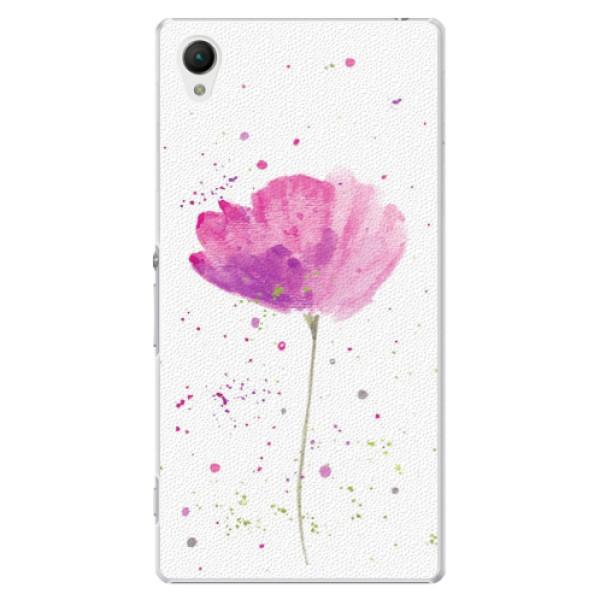 Plastové puzdro iSaprio - Poppies - Sony Xperia Z1