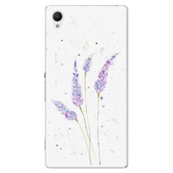 Plastové puzdro iSaprio - Lavender - Sony Xperia Z1