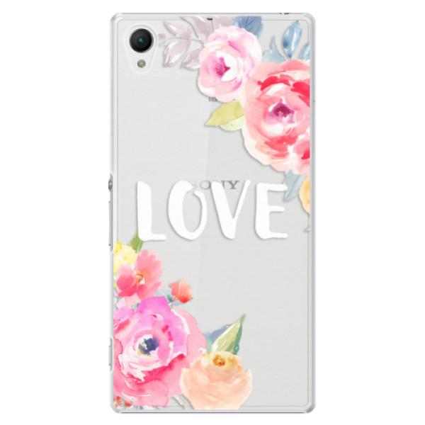 Plastové puzdro iSaprio - Love - Sony Xperia Z1