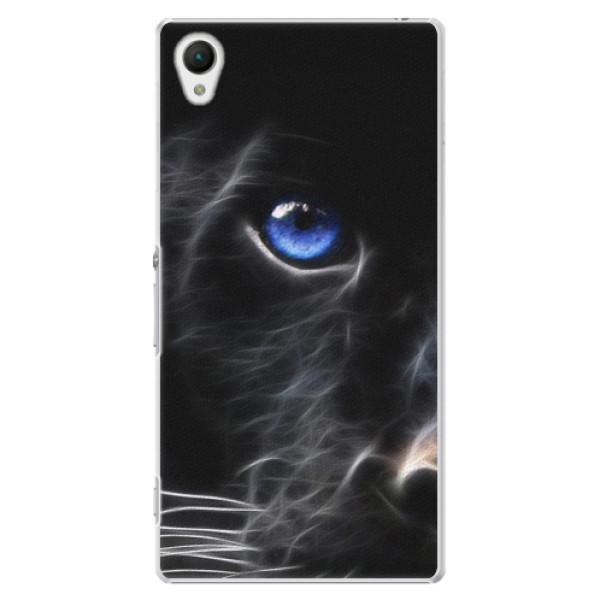 Plastové puzdro iSaprio - Black Puma - Sony Xperia Z1