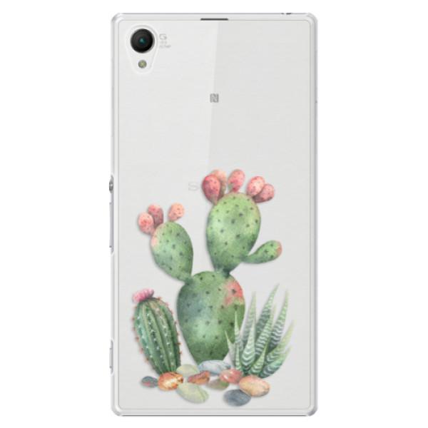 Plastové puzdro iSaprio - Cacti 01 - Sony Xperia Z1