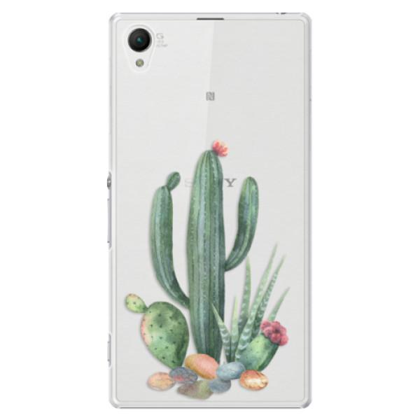 Plastové puzdro iSaprio - Cacti 02 - Sony Xperia Z1