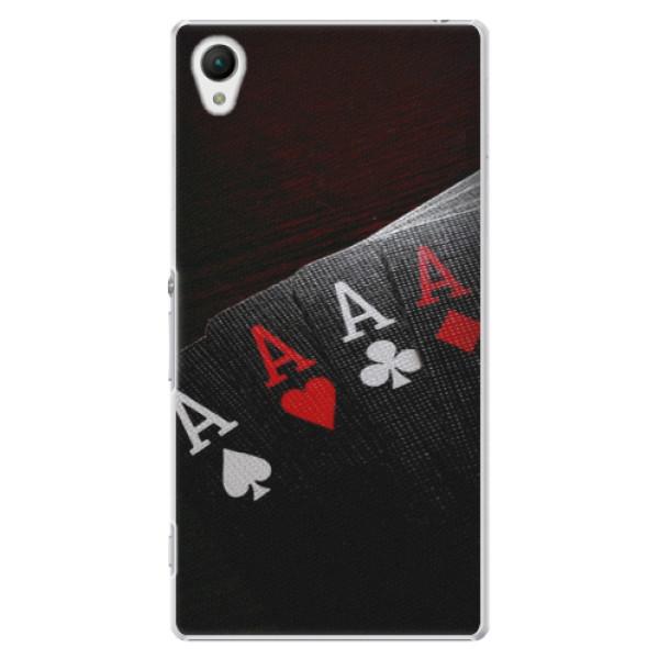 Plastové puzdro iSaprio - Poker - Sony Xperia Z1
