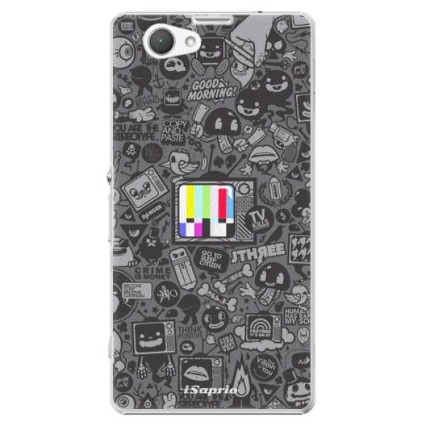 Plastové puzdro iSaprio - Text 03 - Sony Xperia Z1 Compact
