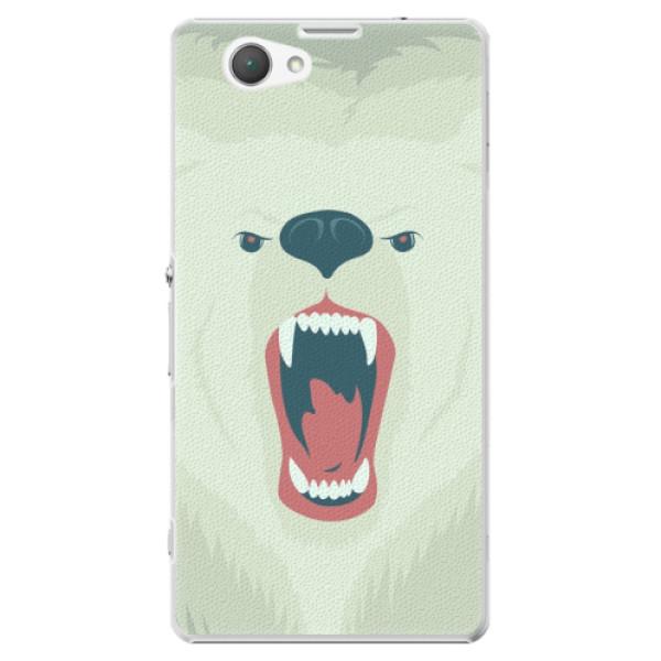 Plastové puzdro iSaprio - Angry Bear - Sony Xperia Z1 Compact
