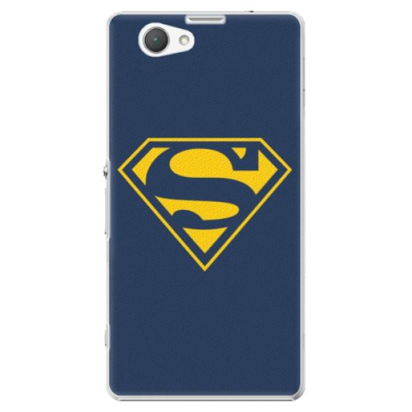 Plastové puzdro iSaprio - Superman 03 - Sony Xperia Z1 Compact