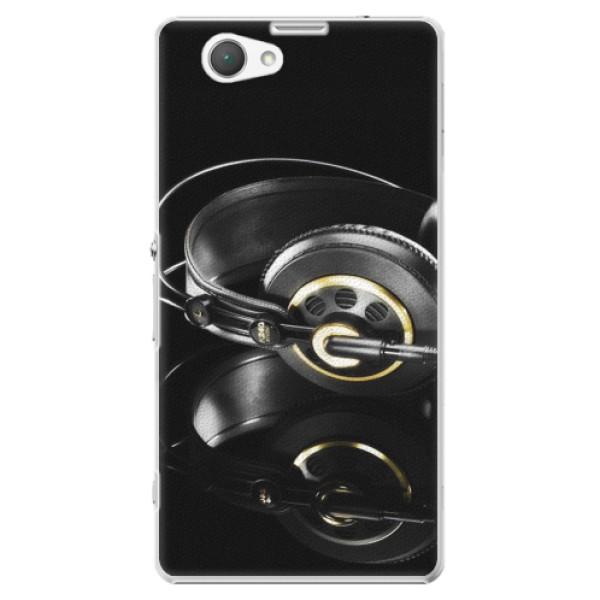 Plastové puzdro iSaprio - Headphones 02 - Sony Xperia Z1 Compact