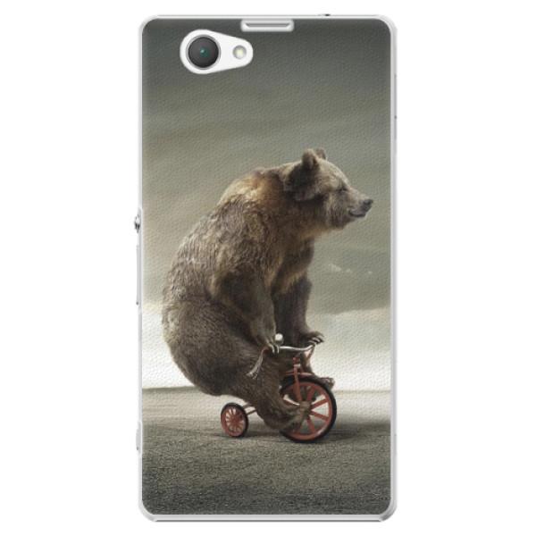 Plastové puzdro iSaprio - Bear 01 - Sony Xperia Z1 Compact