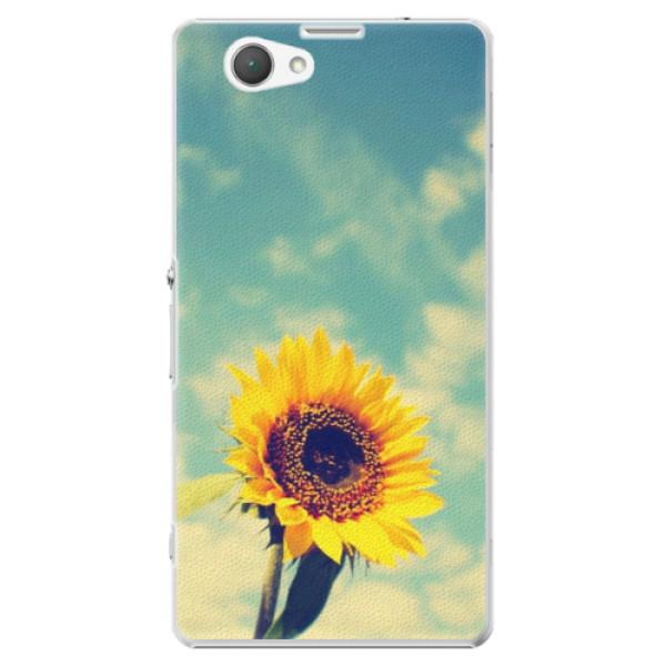 Plastové puzdro iSaprio - Sunflower 01 - Sony Xperia Z1 Compact