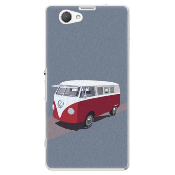 Plastové puzdro iSaprio - VW Bus - Sony Xperia Z1 Compact