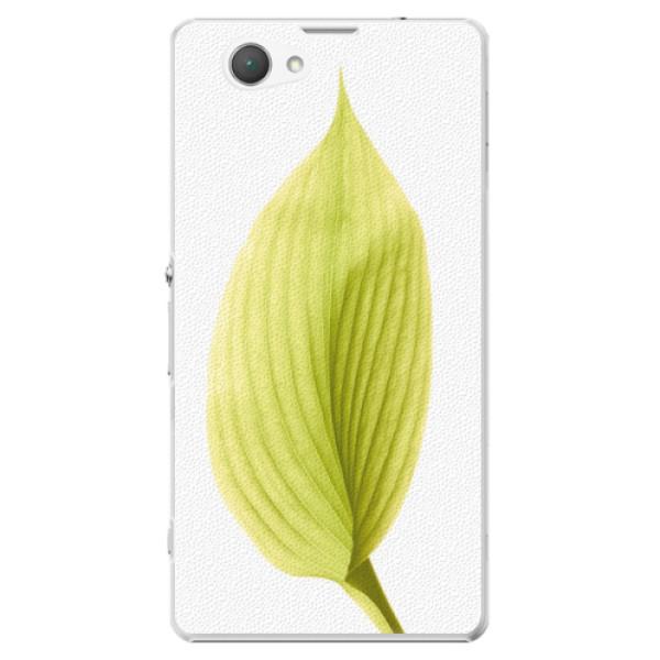 Plastové puzdro iSaprio - Green Leaf - Sony Xperia Z1 Compact