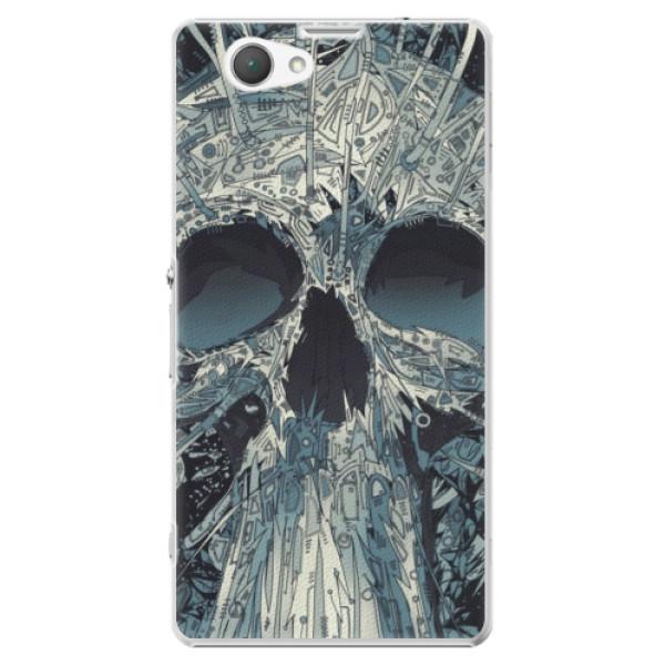 Plastové puzdro iSaprio - Abstract Skull - Sony Xperia Z1 Compact