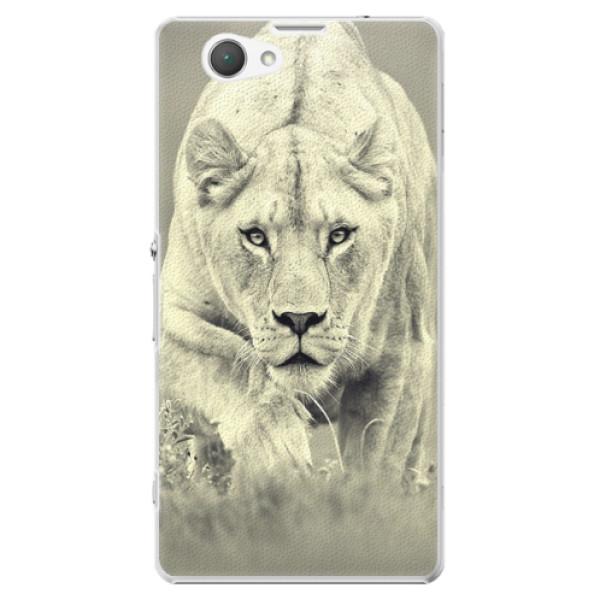 Plastové puzdro iSaprio - Lioness 01 - Sony Xperia Z1 Compact