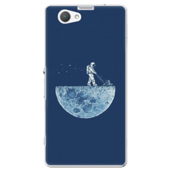 Plastové puzdro iSaprio - Moon 01 - Sony Xperia Z1 Compact