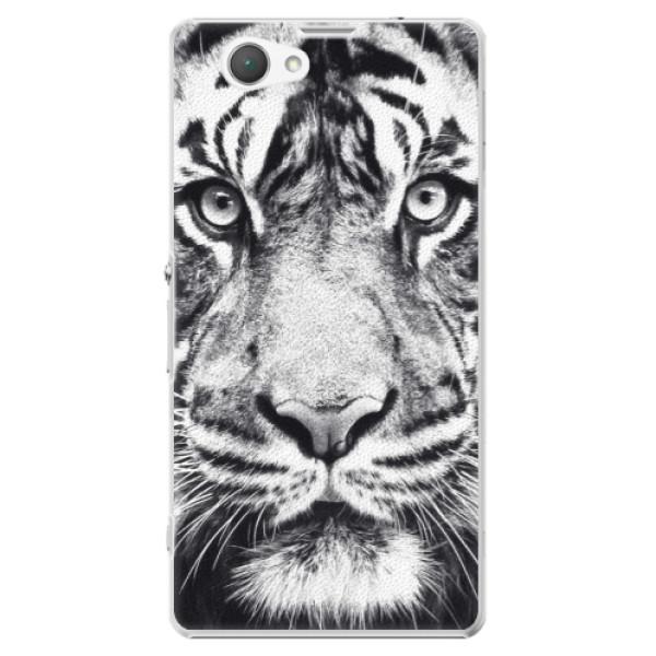 Plastové puzdro iSaprio - Tiger Face - Sony Xperia Z1 Compact