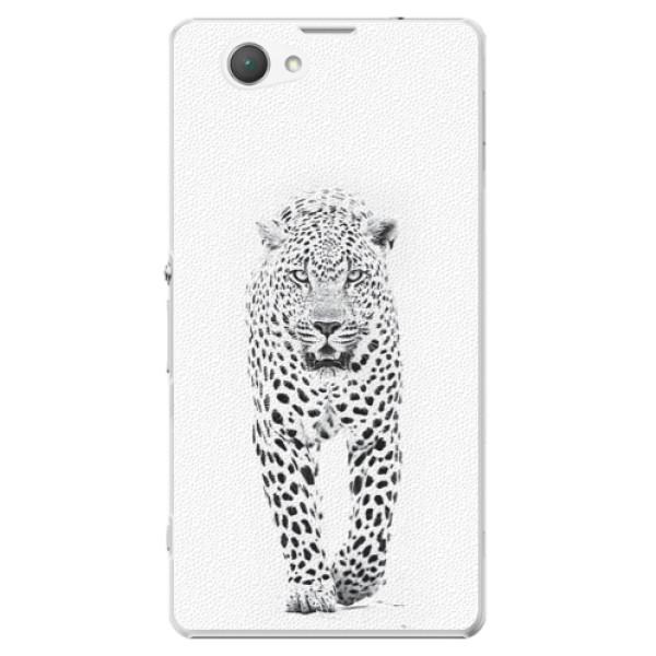 Plastové puzdro iSaprio - White Jaguar - Sony Xperia Z1 Compact