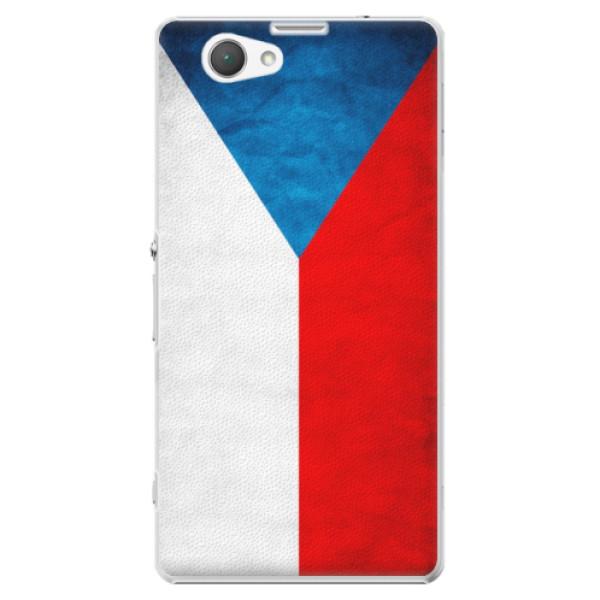 Plastové puzdro iSaprio - Czech Flag - Sony Xperia Z1 Compact