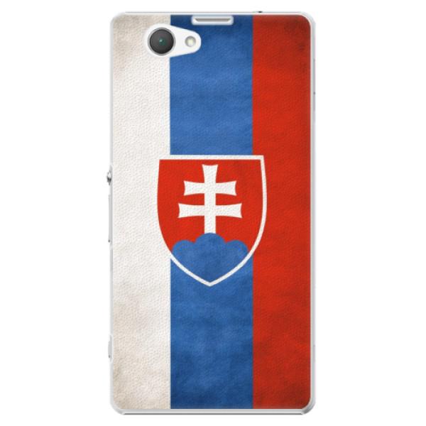 Plastové puzdro iSaprio - Slovakia Flag - Sony Xperia Z1 Compact