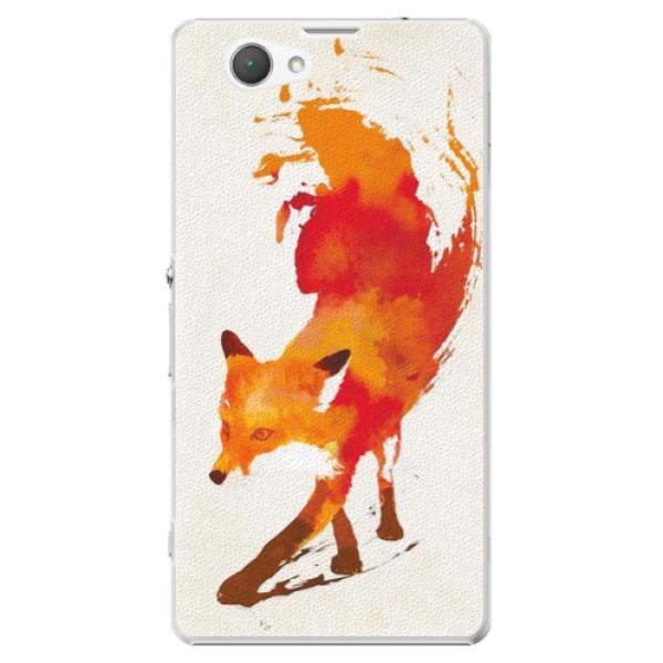 Plastové puzdro iSaprio - Fast Fox - Sony Xperia Z1 Compact