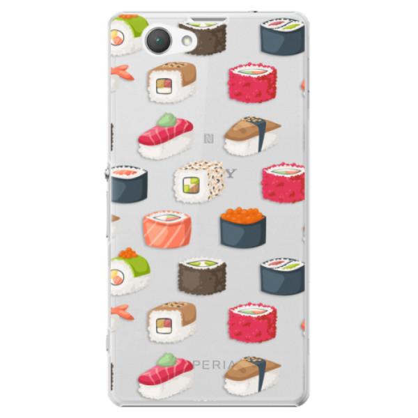 Plastové puzdro iSaprio - Sushi Pattern - Sony Xperia Z1 Compact