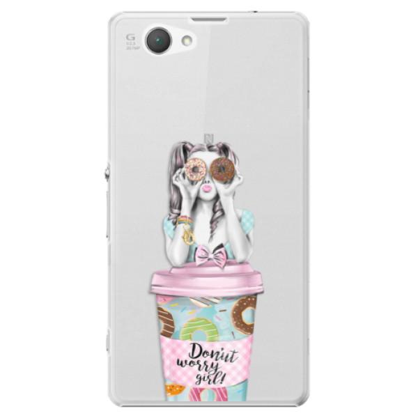 Plastové puzdro iSaprio - Donut Worry - Sony Xperia Z1 Compact