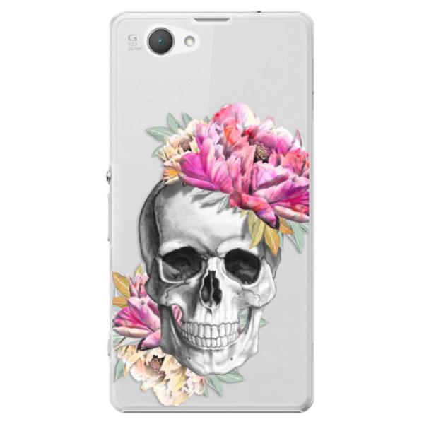 Plastové puzdro iSaprio - Pretty Skull - Sony Xperia Z1 Compact
