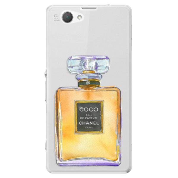 Plastové puzdro iSaprio - Chanel Gold - Sony Xperia Z1 Compact