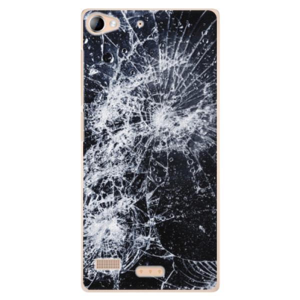 Plastové puzdro iSaprio - Cracked - Sony Xperia Z2