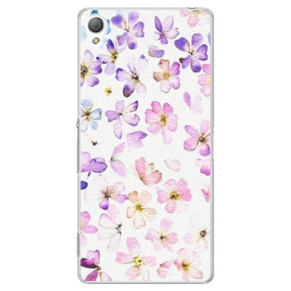 Plastové puzdro iSaprio - Wildflowers - Sony Xperia Z3