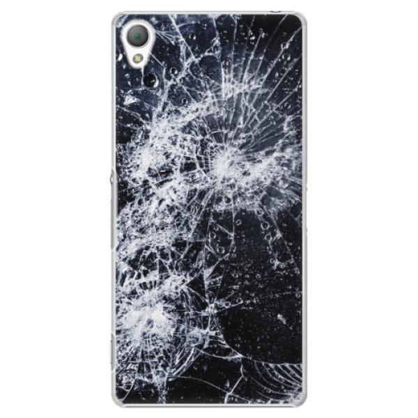 Plastové puzdro iSaprio - Cracked - Sony Xperia Z3