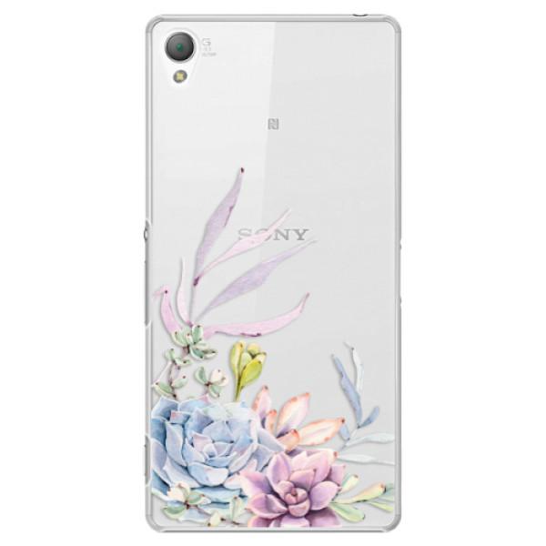 Plastové puzdro iSaprio - Succulent 01 - Sony Xperia Z3