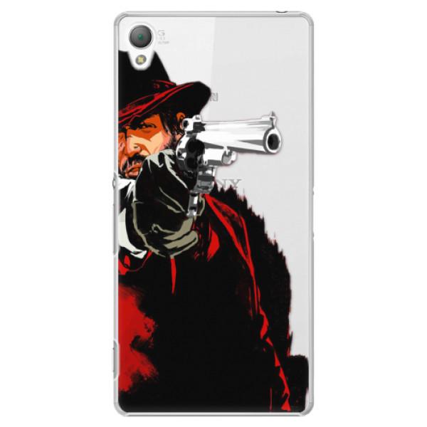 Plastové puzdro iSaprio - Red Sheriff - Sony Xperia Z3