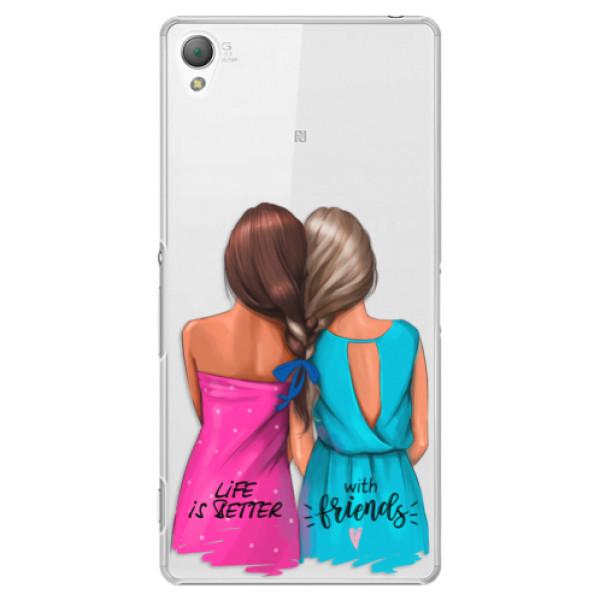 Plastové puzdro iSaprio - Best Friends - Sony Xperia Z3
