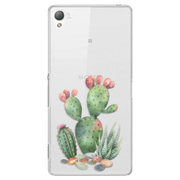 Plastové puzdro iSaprio - Cacti 01 - Sony Xperia Z3