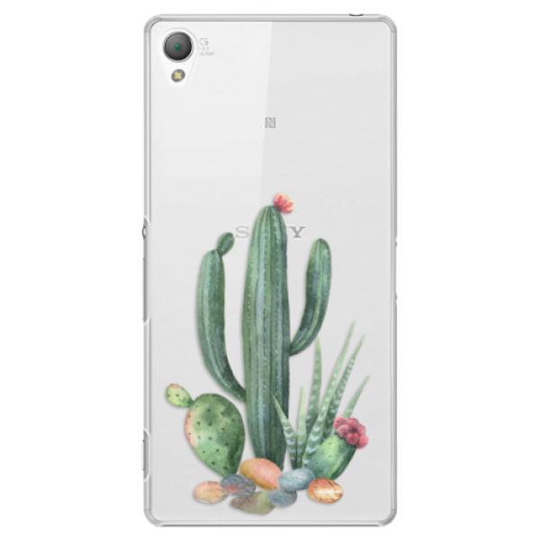Plastové puzdro iSaprio - Cacti 02 - Sony Xperia Z3