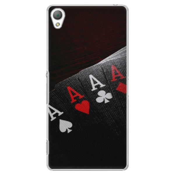 Plastové puzdro iSaprio - Poker - Sony Xperia Z3